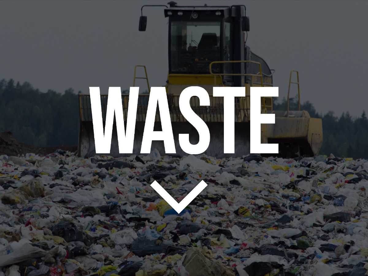 Waste Banner