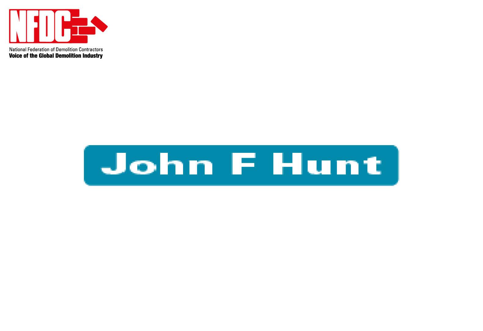 John F Hunt